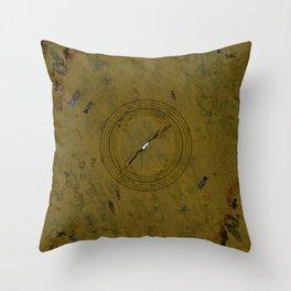 Camo Strobe Throw Pillow