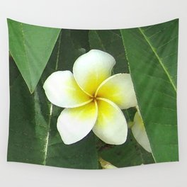 Plumeria Extreme Wall Tapestry
