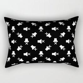 Mute Rectangular Pillow