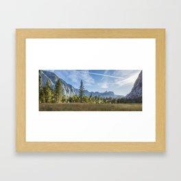 Light Across the Valley Framed Art Print