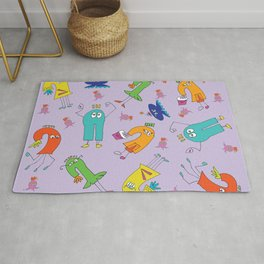 Monster Kids Party Rug