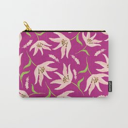 Bright Pink Carry-All Pouch