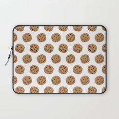 Chocolate Chip Cookies Pattern Laptop Sleeve