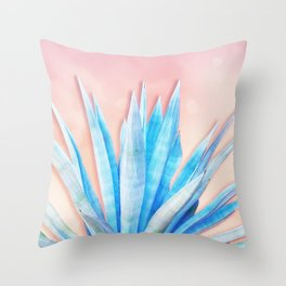 Agave Azul Throw Pillow