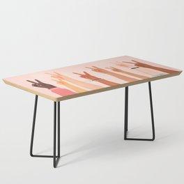 Peace Coffee Table