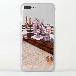 A Game of Chess Clear iPhone Case