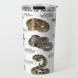 Rattlesnakes of North America Travel Mug