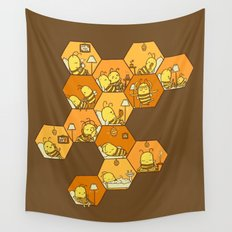 Just Bee Wall Tapestry