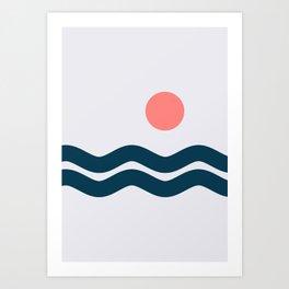 Nautical 06 No.1 Art Print