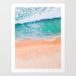 Tropical Delight - California Dreams Art Print
