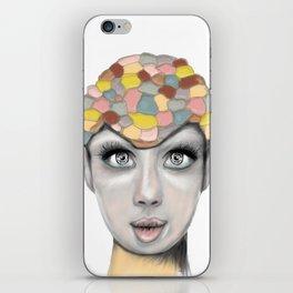 power Girl iPhone Skin