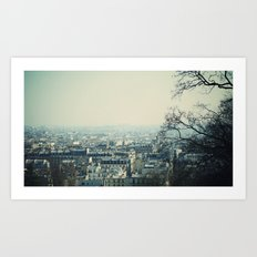 From Montmartre with love Art Print