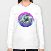 seal Long Sleeve T-shirts featuring Baby seal by JT Digital Art