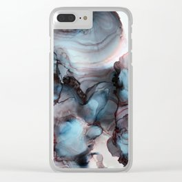 Oceans Deep Clear iPhone Case