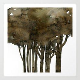 Tree Impressions No.1A by Kathy Morton Stanion Art Print