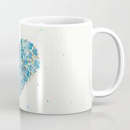 forget-me-nots heart Coffee Mug