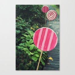 The Lollipop Trail Canvas Print