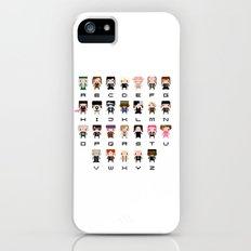 Harry Potter Alphabet Slim Case iPhone (5, 5s)
