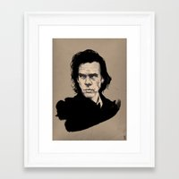 nick cave Framed Art Prints featuring Nick Cave  by Philipp Banken