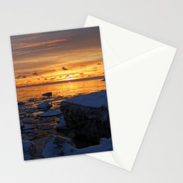 Pere Marquette Beach, Muskegon, MI Stationery Cards