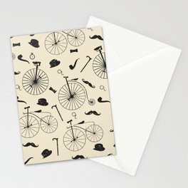 The Victorian Gentleman Goes Cycling Stationery Cards