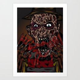 Keep Dreamin' Krueger Art Print