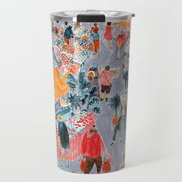 Columbia Road Flower Market Travel Mug