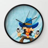 dwight Wall Clocks featuring Dwight McStetson by Rabassa