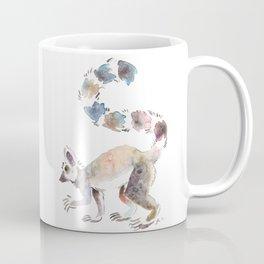 Splotchy Lemur Coffee Mug