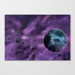 Drifting through Nebulae Canvas Print
