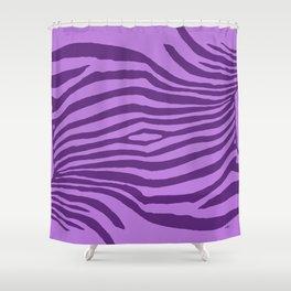 Animal Waves (Purple Mood) Shower Curtain