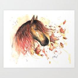 Redhead 2 Art Print
