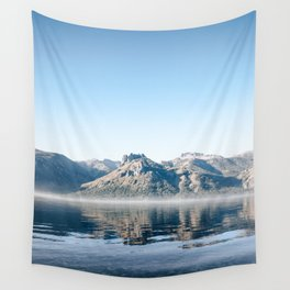 beach in lake meliquina Wall Tapestry