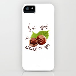 A crush on you / Je craque pour toi ! iPhone Case