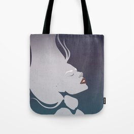 Floatinf Face Tote Bag