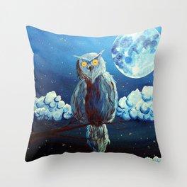 Le veilleur (The gard) Throw Pillow
