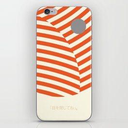 Love and Collision iPhone Skin