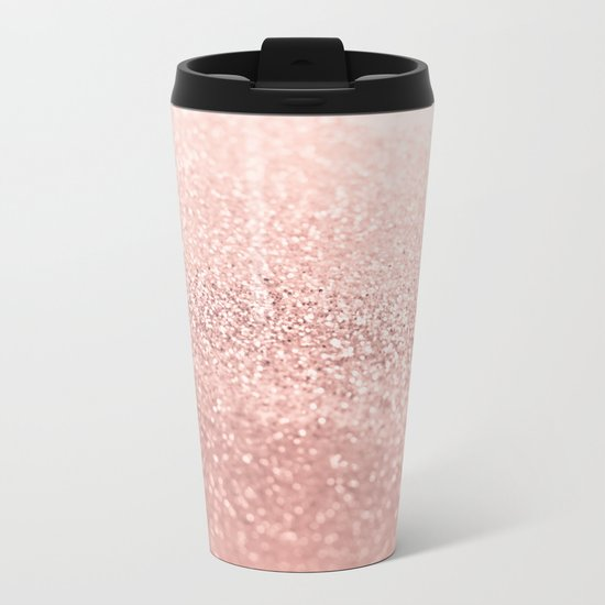 ROSEGOLD Metal Travel Mug