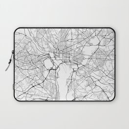 Washington DC Street Map Laptop Sleeve
