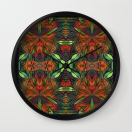 Bad A$$ Stained Glass Wall Clock