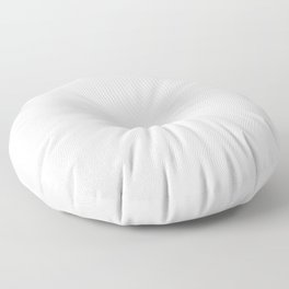 White Minimalist Floor Pillow