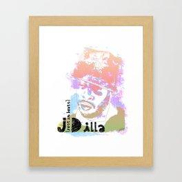 Rest In Beats Dilla Framed Art Print