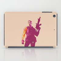 the winter soldier iPad Cases featuring Winter Soldier by Simon Alenius