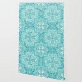 Jade Agate Stone Flower Wallpaper