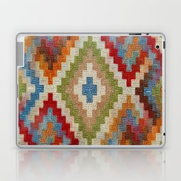 kilim rug pattern Laptop & iPad Skin