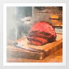 The Meatermelon 1 Art Print