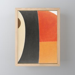 Toucan Macro Framed Mini Art Print