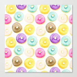 Doughnuts For Days II Canvas Print