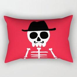 El Skeletor Rectangular Pillow