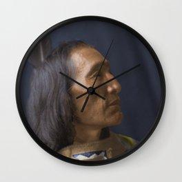 Little Dog - Brulé Lakota Sioux - American Indian Wall Clock